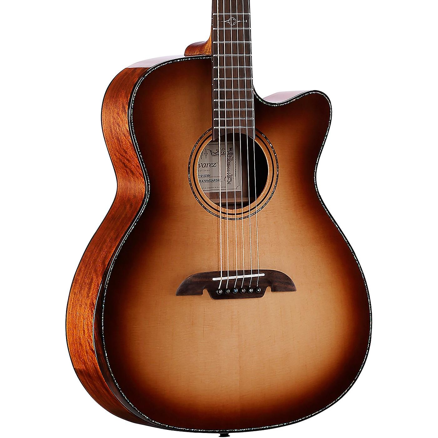 Alvarez MFA70WCEAR Masterworks Folk Acoustic-Electric Guitar thumbnail