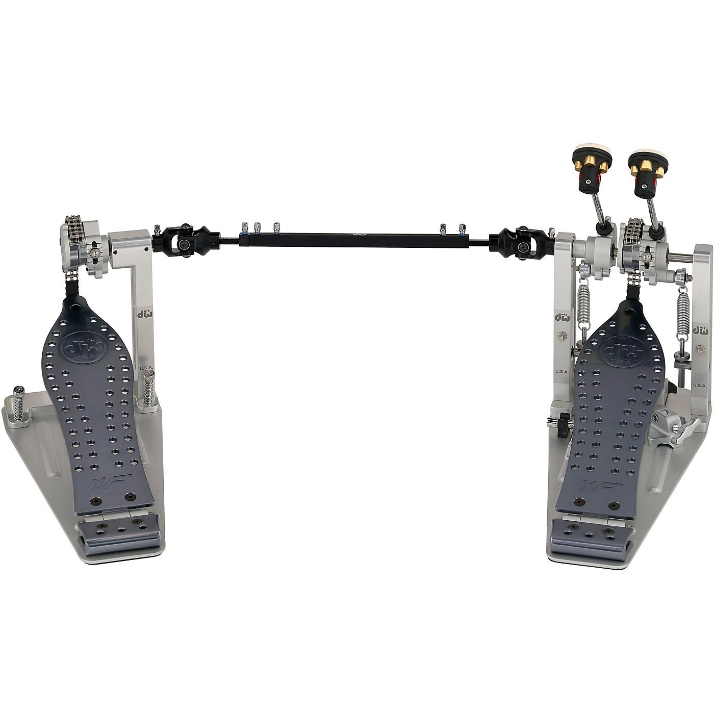DW MFG Series XF Machined Chain Drive Double Bass Drum Pedal thumbnail