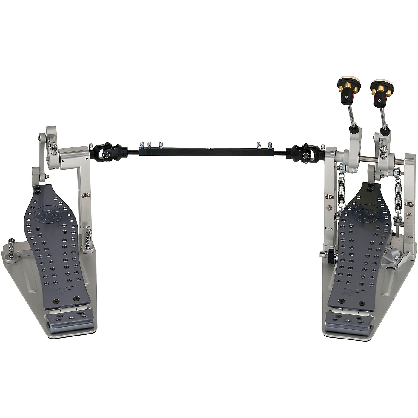 DW MFG Series XF Machined Direct Drive Double Bass Drum Pedal thumbnail