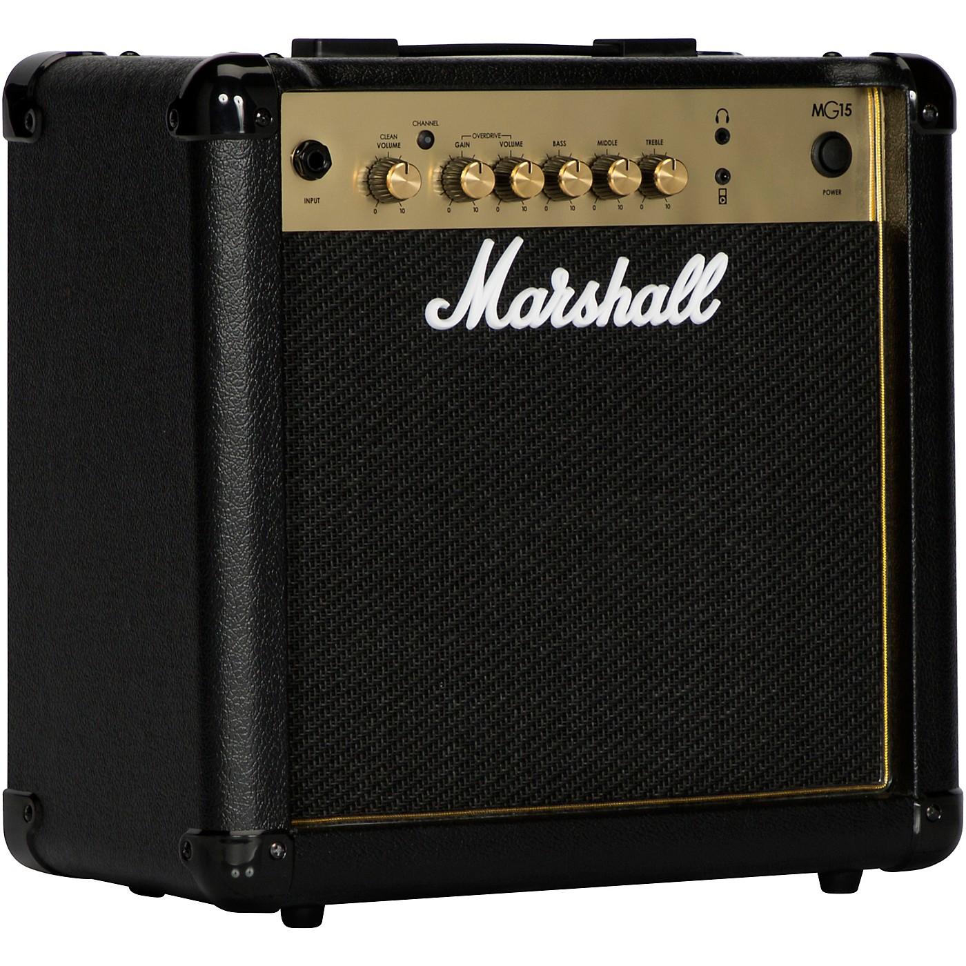 Marshall MG15 15W 1x8 Guitar Combo Amp thumbnail