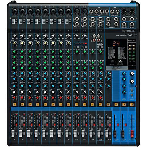 Yamaha MG16XU 16-Channel Mixer thumbnail