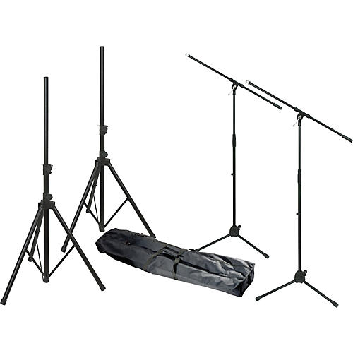 Musician's Gear MG280 PA Sound System Stand Kit thumbnail