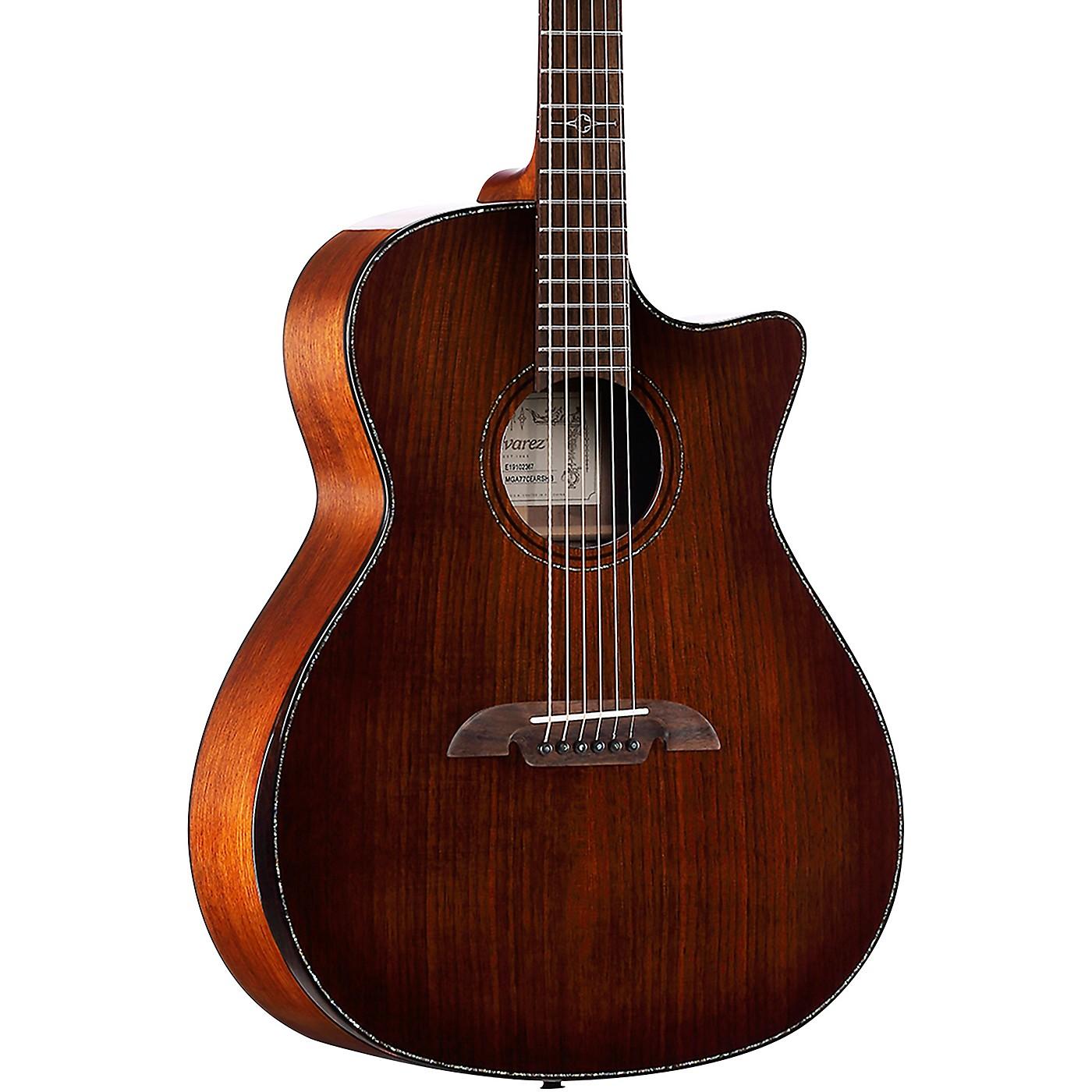 Alvarez MGA77CEAR Masterworks Grand Auditorium Acoustic-Electric Guitar thumbnail