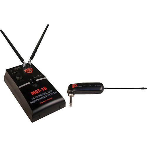 Nady MGT 16 UHF Wireless Instrument System thumbnail