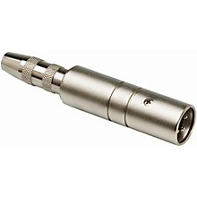 Hosa MIT129 XLR Male LO-Z to 1/4in TS Female HI-Z Microphone Input Impedance Transformer