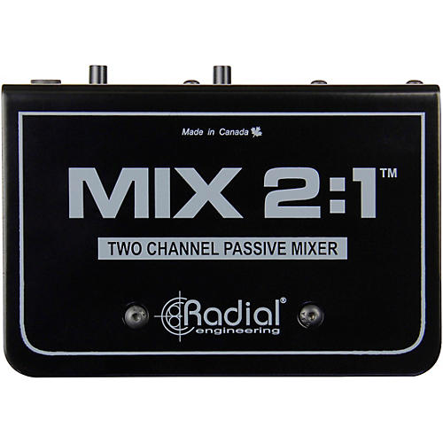 Radial Engineering MIX 2:1 Two Channel Audio Combiner & Mixer thumbnail