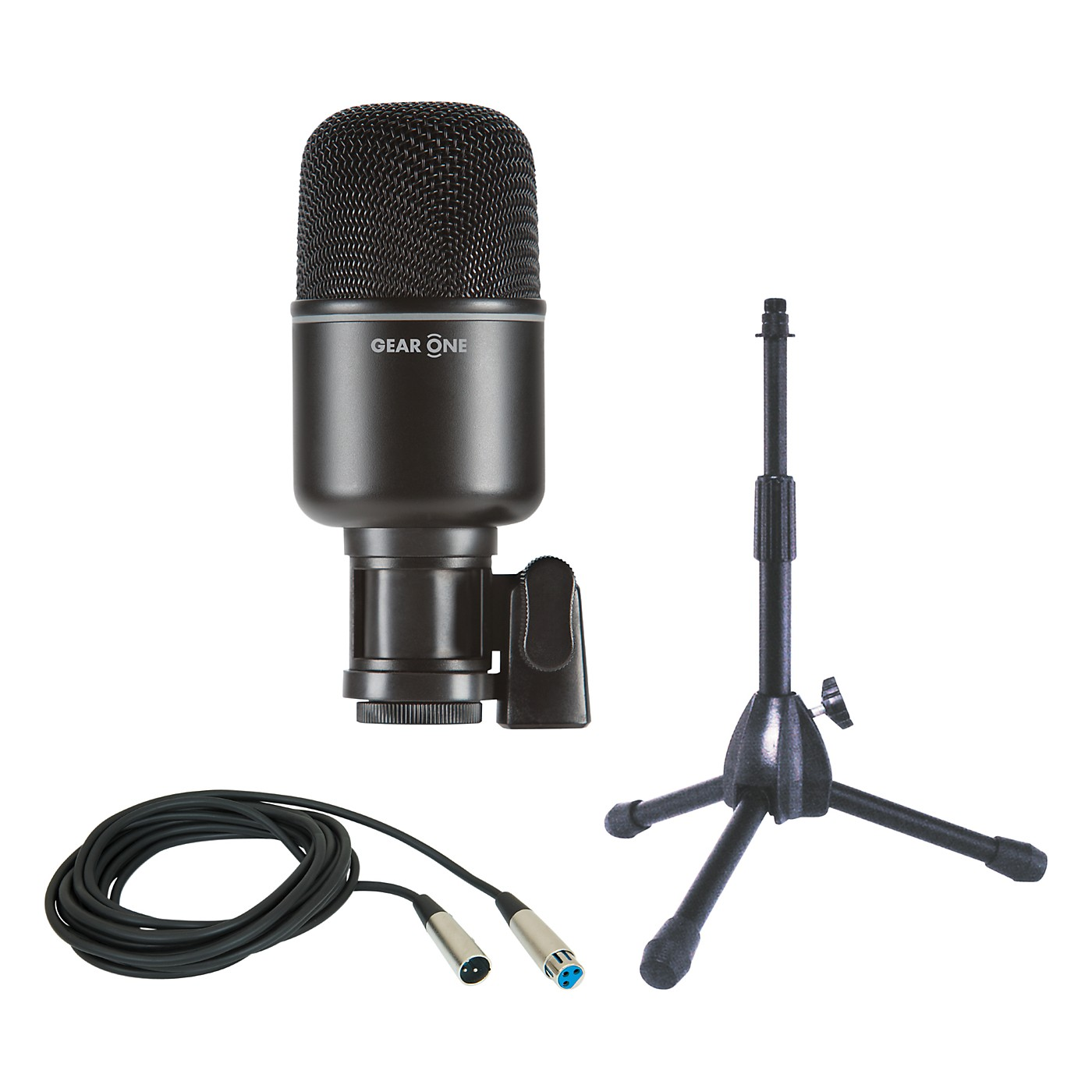 Gear One MK1000 Kick Drum Mic Package with Stand and Cable thumbnail