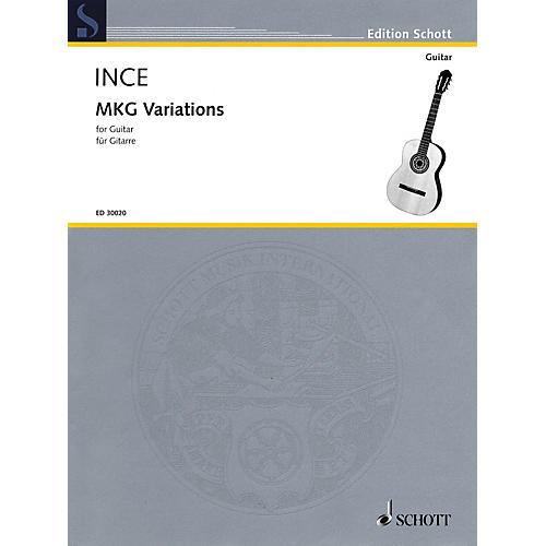 Schott MKG Variations (for Guitar) Guitar Series Softcover thumbnail