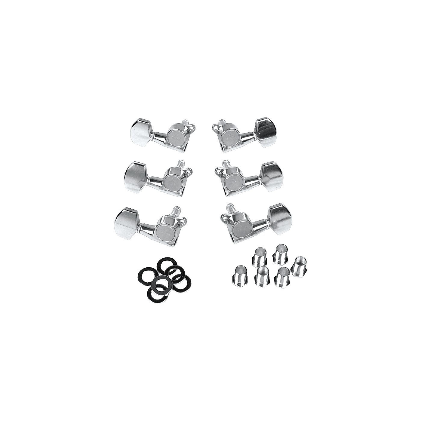 Gotoh MLB3-G 3-On-A-Side Locking Tuners 6-Pack thumbnail