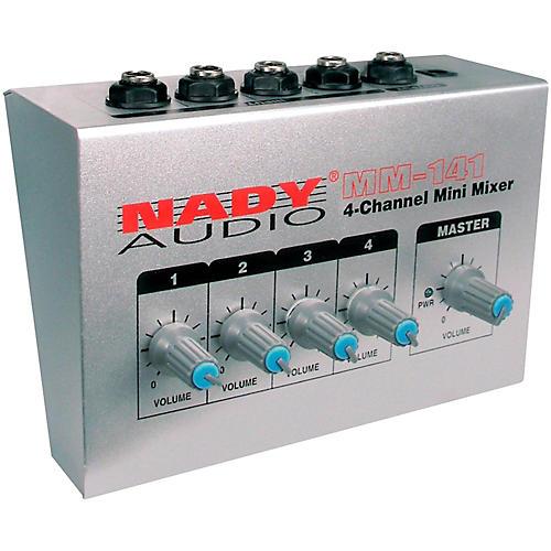 Nady MM-141 4-Channel Mini Mixer thumbnail