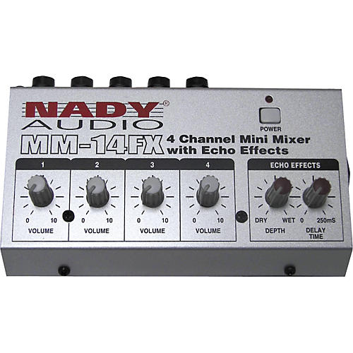 Nady MM-14FX Mini Line Mixer with Effects-thumbnail