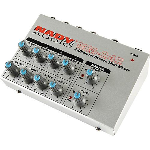 Nady MM-242 4-Channel Mini Mixer thumbnail