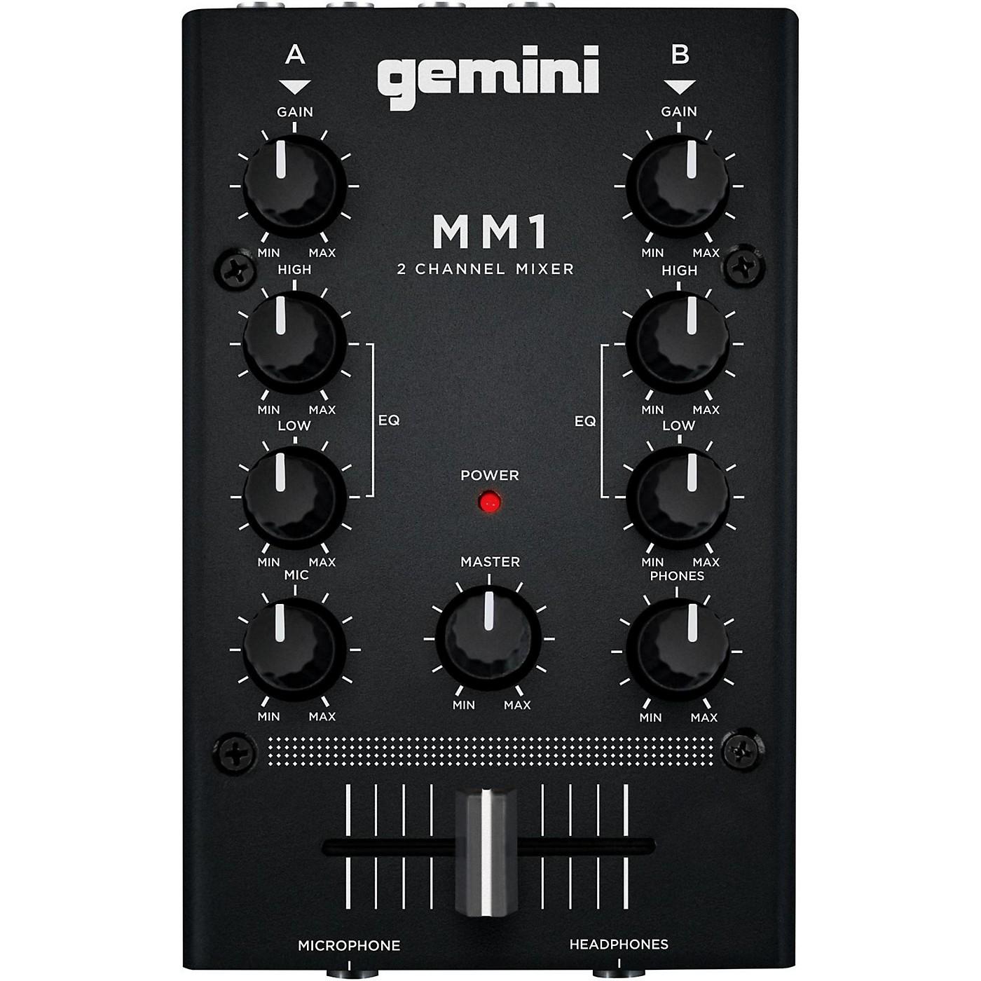 Gemini MM1 2 Channel Audio Mixer thumbnail