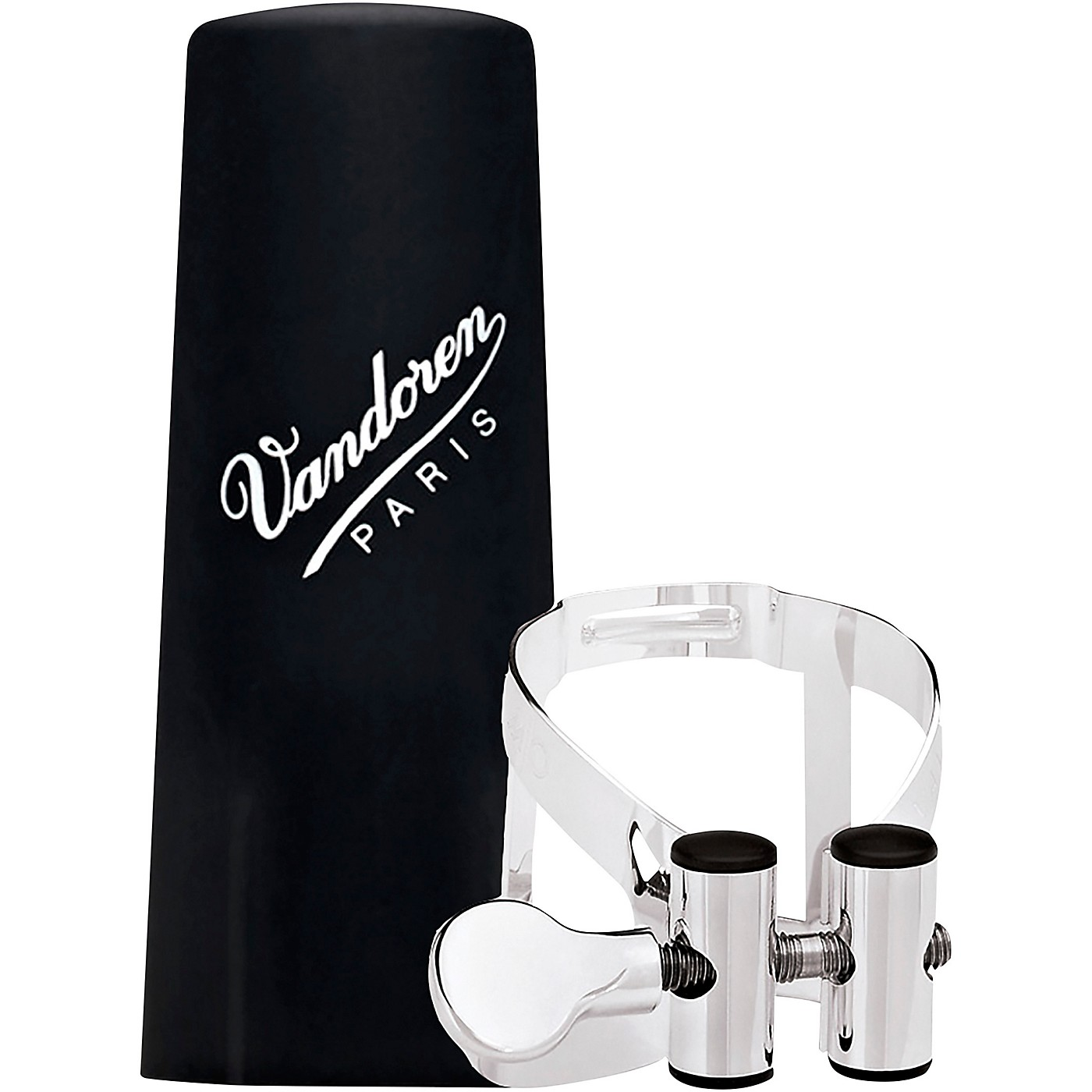 Vandoren M|O Ligature and Plastic Cap for Bb Clarinet - Pink Gold thumbnail