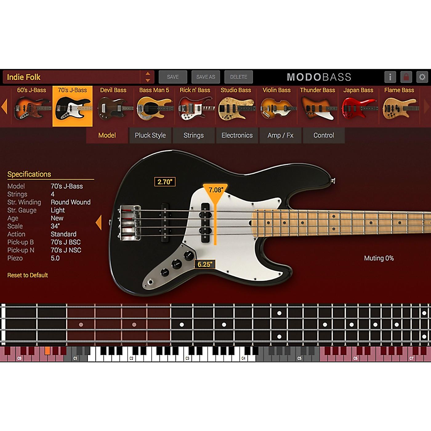 IK Multimedia MODO Bass (Boxed) thumbnail