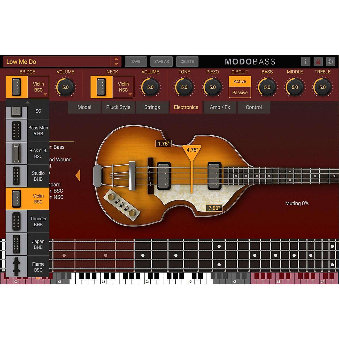 IK Multimedia MODO Bass Crossgrade thumbnail