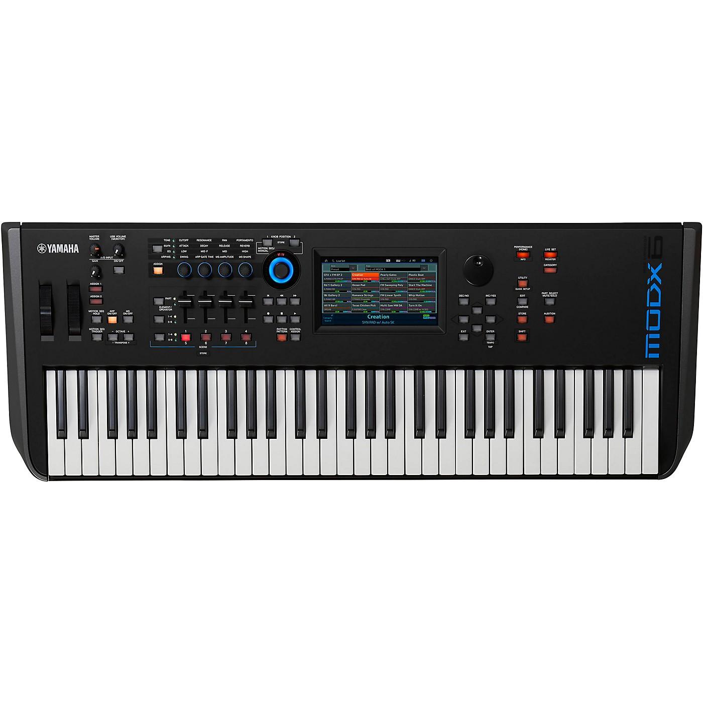 Yamaha MODX6 61-Key Synthesizer thumbnail