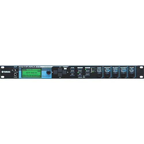 Yamaha MOTIF RACK XS Tone Generator thumbnail