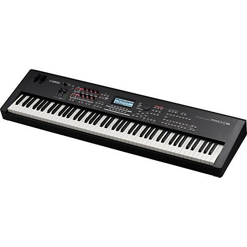 mox8 88 key graded hammer action music production synthesizer rh wwbw com Yamaha MOX8 YouTube Yamaha MOX8 YouTube