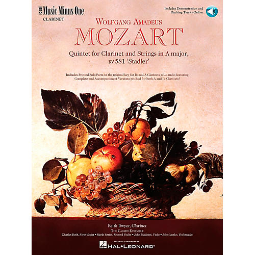 Hal Leonard MOZART Quintet in A major, KV581-thumbnail