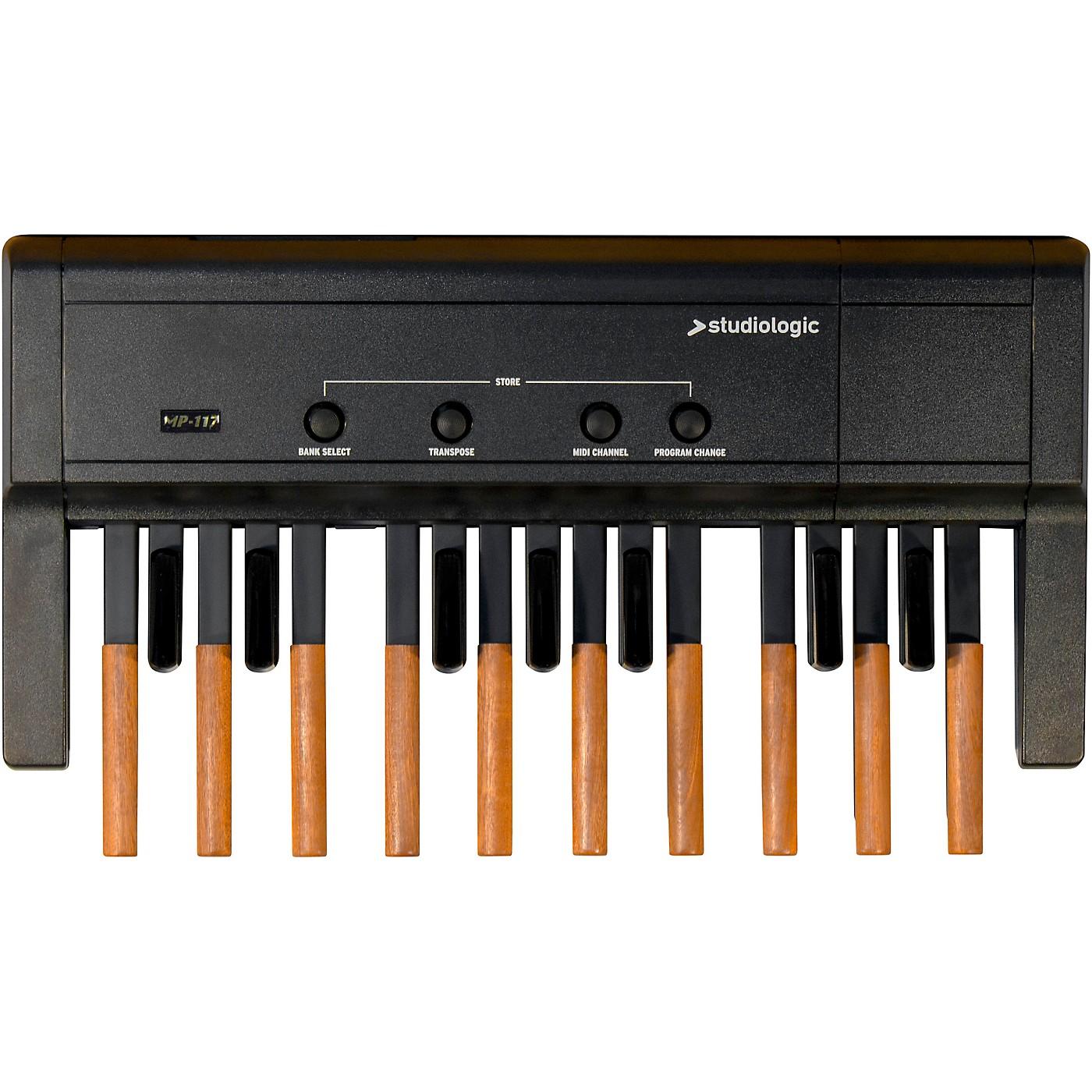 Studiologic MP-117 MIDI Foot Controller Pedal Board thumbnail