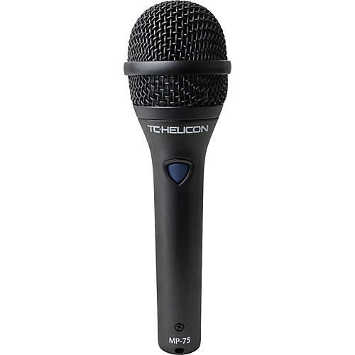 TC Helicon MP-75 Dynamic Handheld Microphone with Helicon Control Switch thumbnail