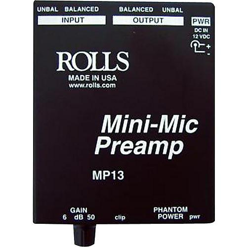 Rolls MP13 Mini-Mic Preamp thumbnail
