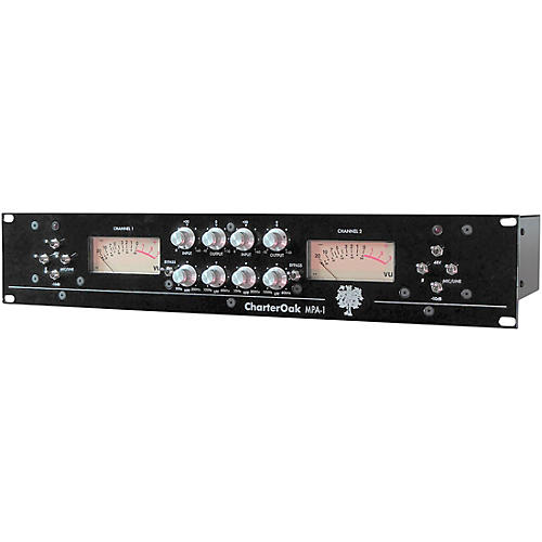 Charter Oak Acoustics MPA-1 Dual Channel Microphone Preamp thumbnail