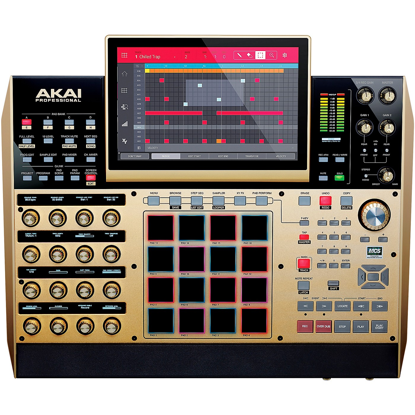 Akai Professional MPC X Controller GOLD thumbnail