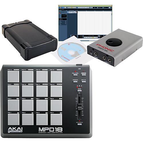 Akai Professional MPD18 Steven Slate Firewire Drum Package thumbnail