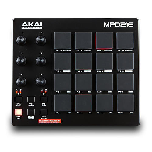 Akai Professional MPD218 Pad Controller thumbnail