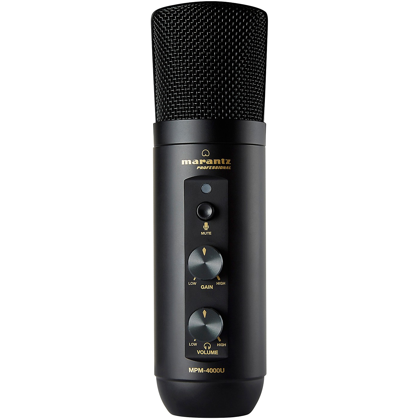 Marantz Professional MPM4000U USB Podcasting Microphone with Built In Mixer and Headphone Output thumbnail