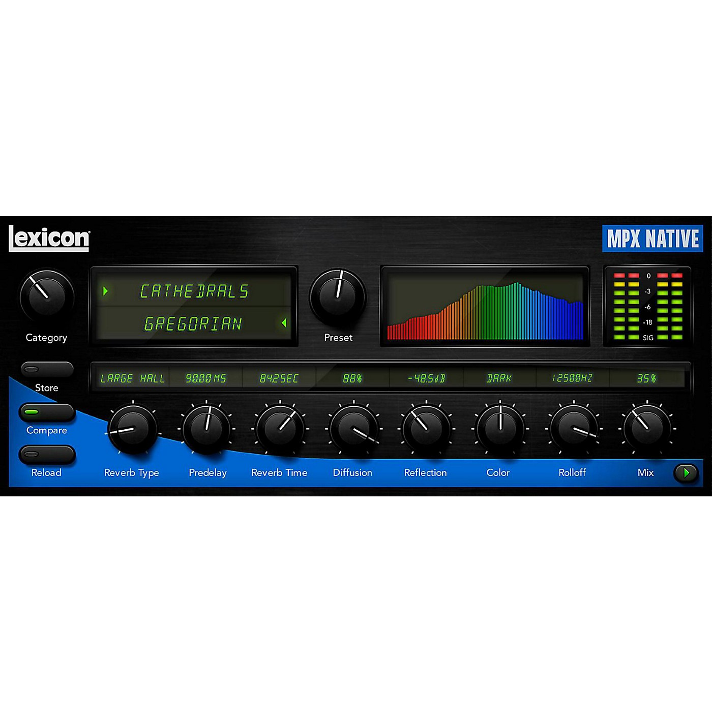 Lexicon MPX Native Reverb Plug-In Software Download thumbnail