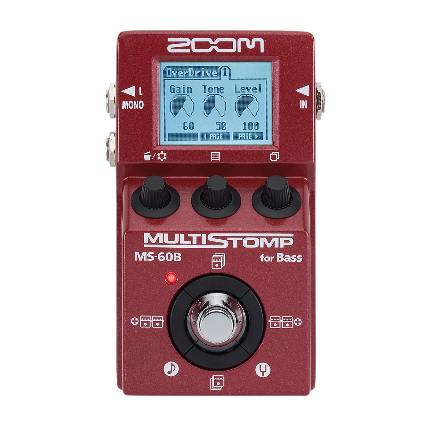 Zoom MS-60B Multi-Stomp Bass Pedal thumbnail