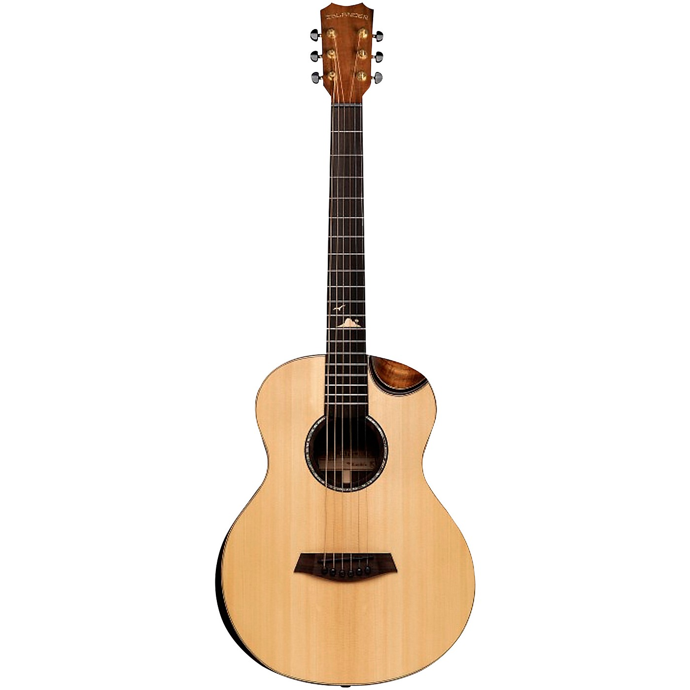 Islander MS-MG-EQ Acoustic-Electric Mini Guitar thumbnail