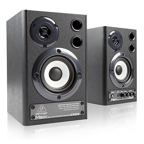 Behringer MS20 Digital Monitor Speakers (Pair) thumbnail