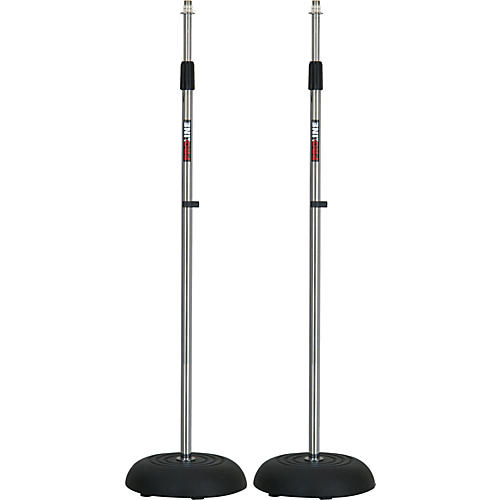 Proline MS235CR Round Base Mic Stand 2 Pack thumbnail
