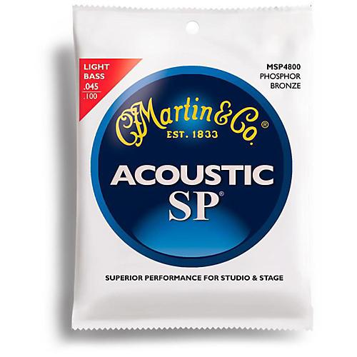 Martin MSP4800 4-String SP Light Acoustic Bass Strings-thumbnail