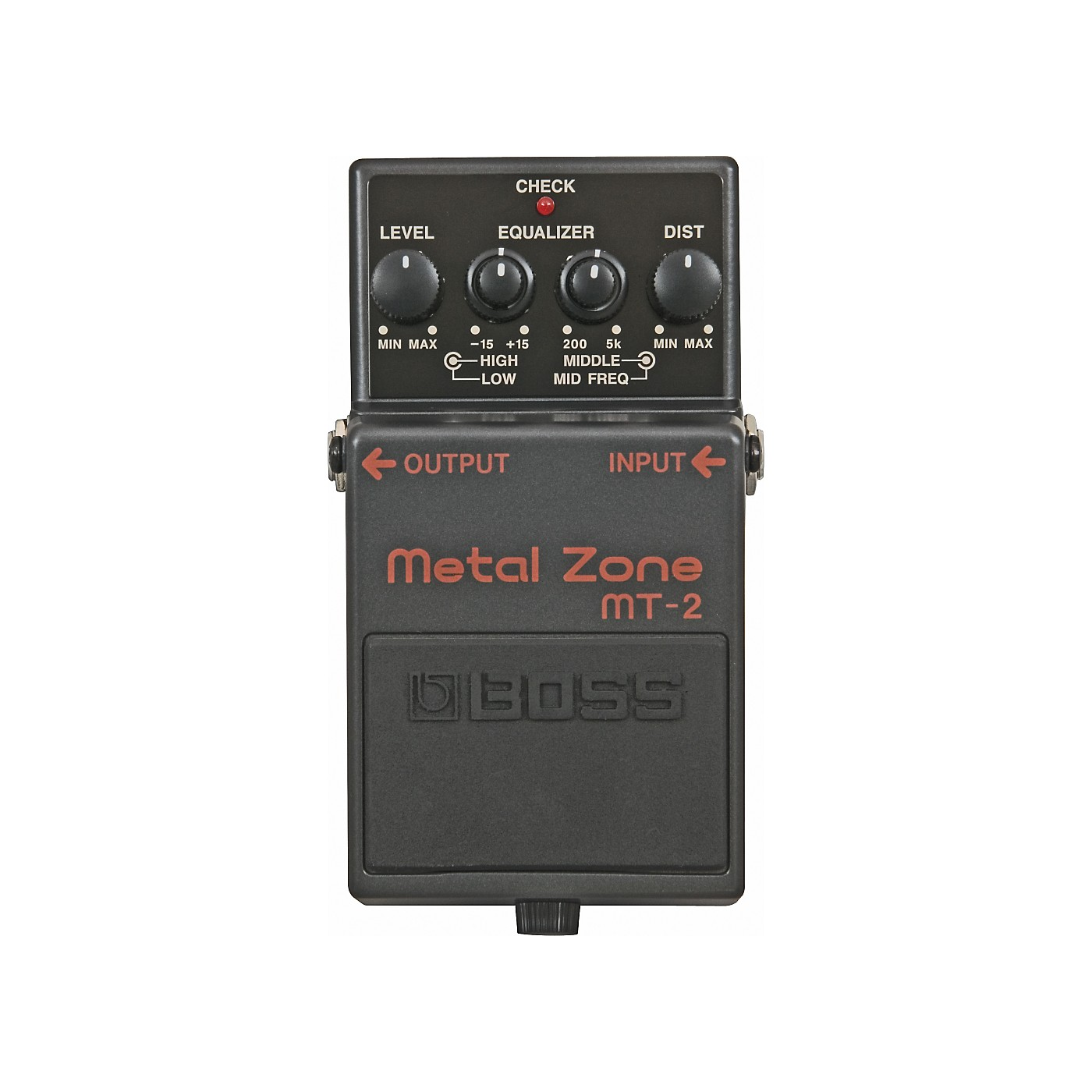 Boss MT-2 Metal Zone Effects Pedal thumbnail