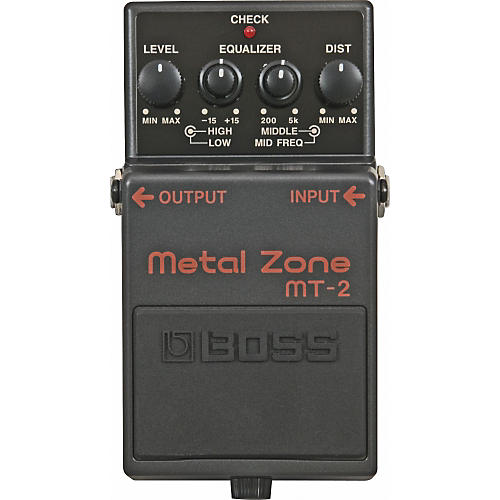 Boss MT-2 Metal Zone Effects Pedal thumbnail