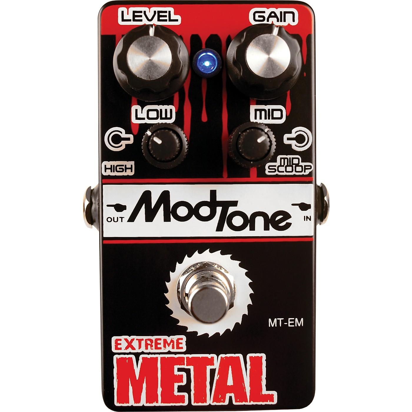 Modtone MT-EM Extreme Metal Guitar Effects Pedal thumbnail
