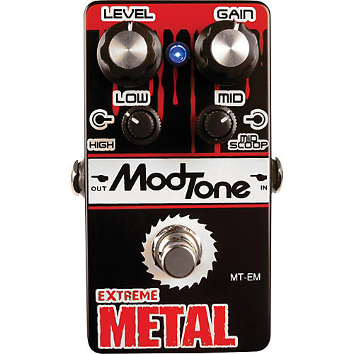 Modtone MT-EM Extreme Metal Guitar Effects Pedal-thumbnail