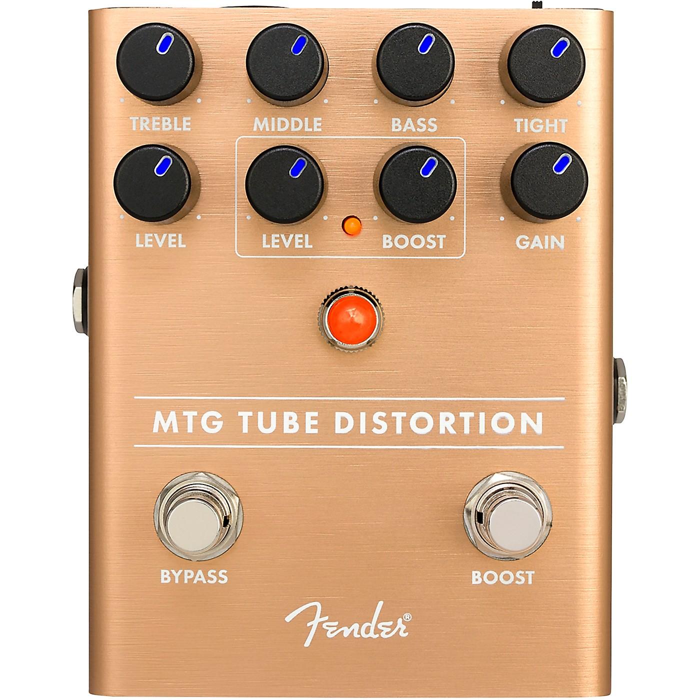 Fender MTG Tube Distortion Effects Pedal thumbnail