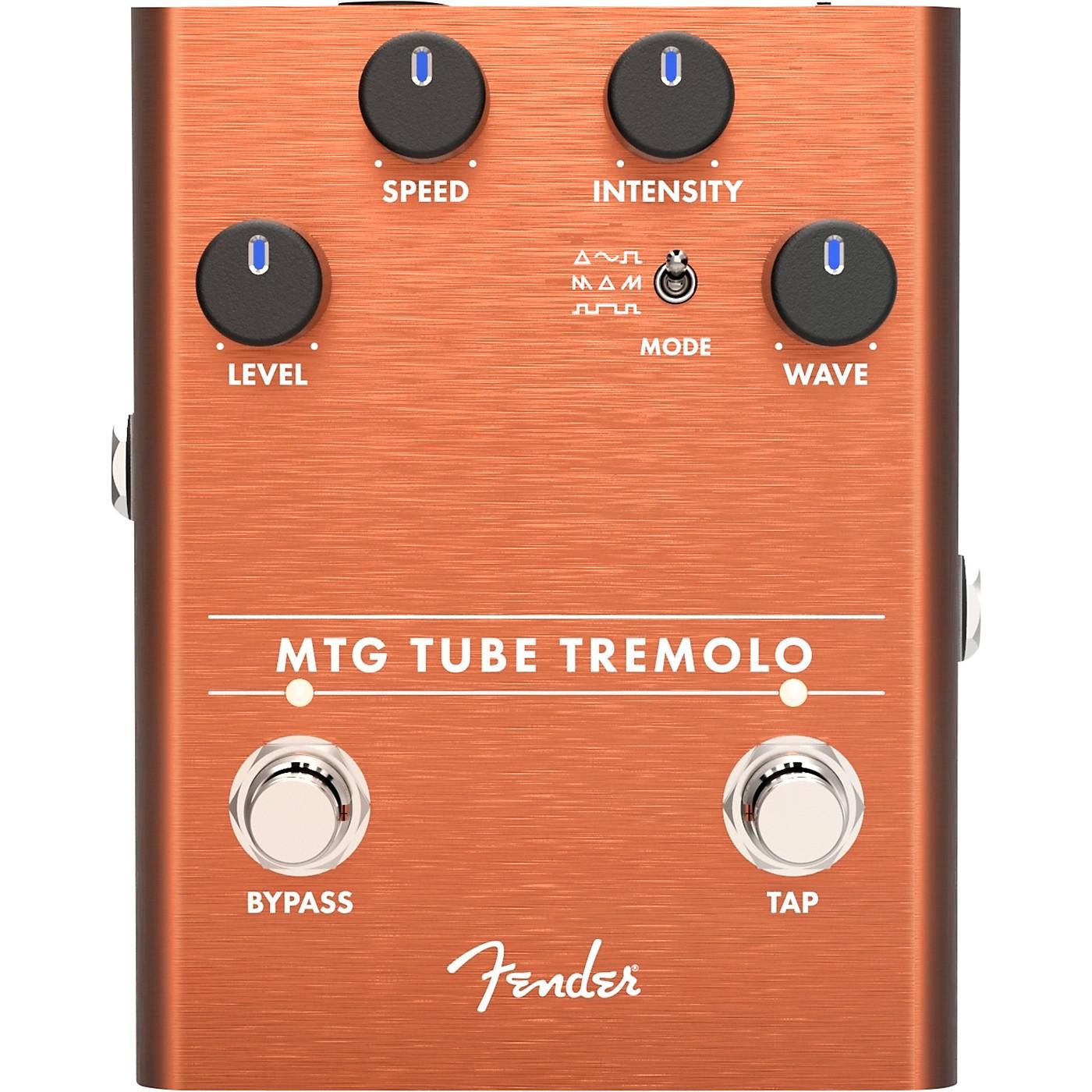 Fender MTG Tube Tremolo Effects Pedal thumbnail