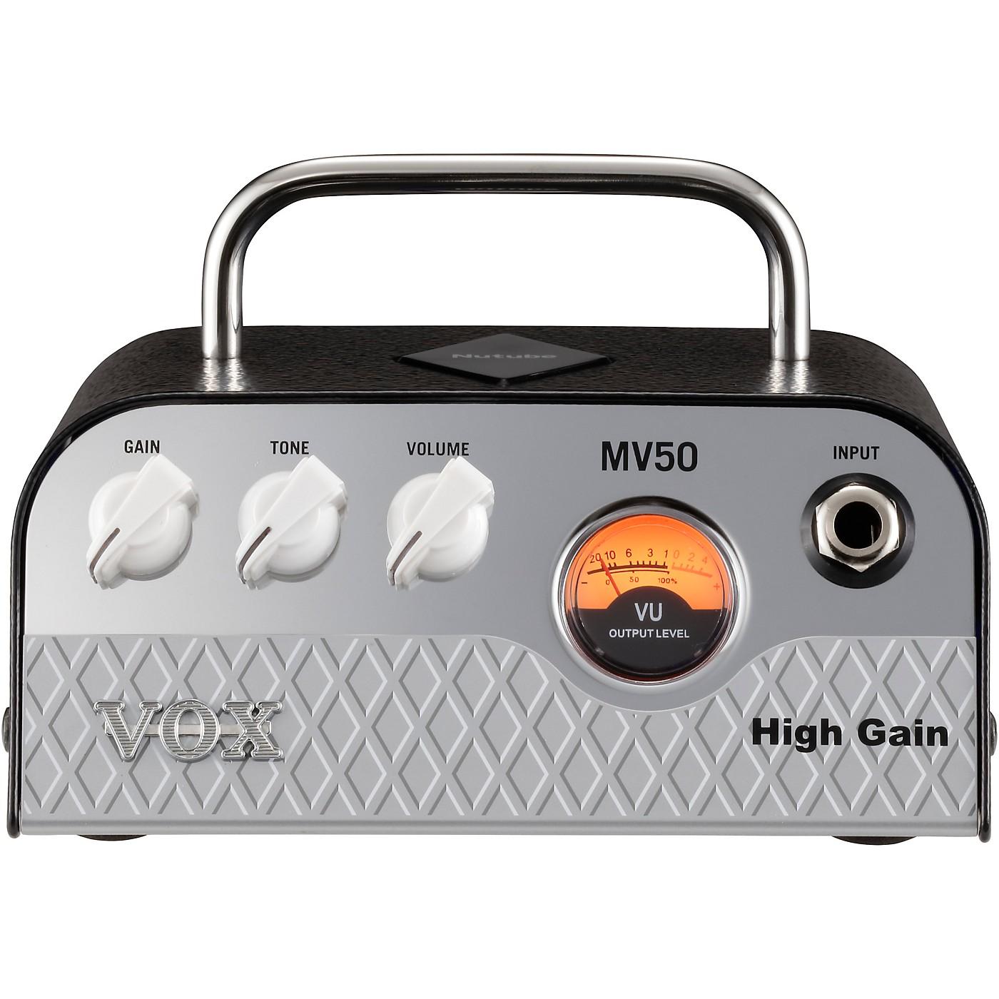 Vox MV50 High Gain 50W Guitar Amplifier Head thumbnail