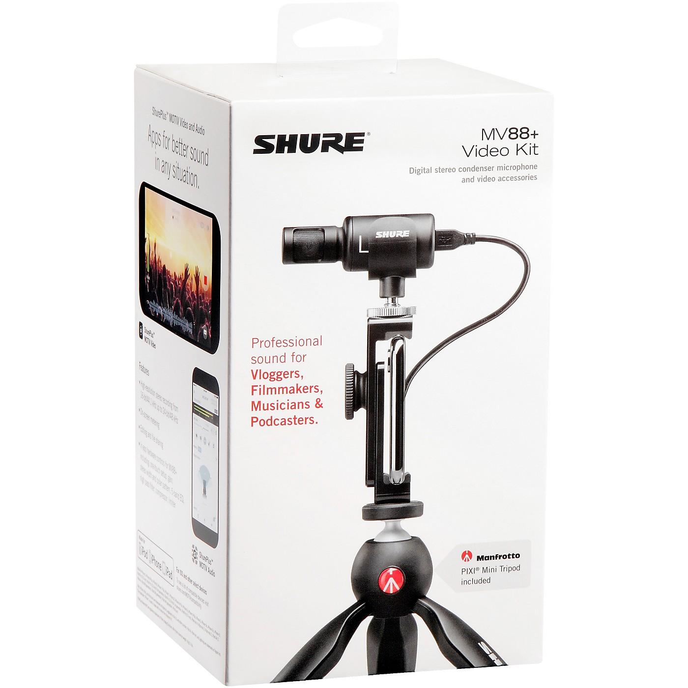 Shure MV88+ Video Kit thumbnail