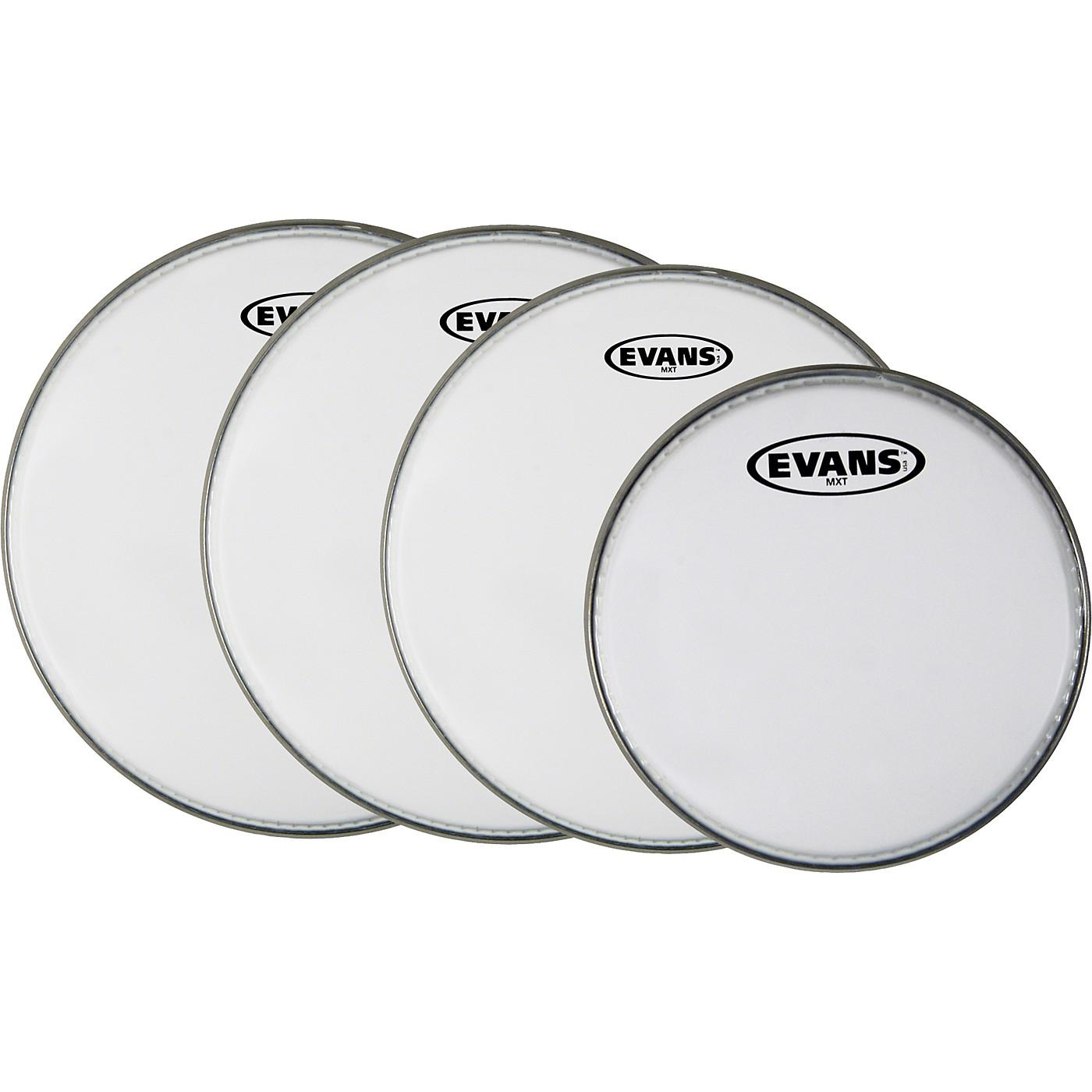 Evans MX White Tenor Drumhead 4-Pack thumbnail