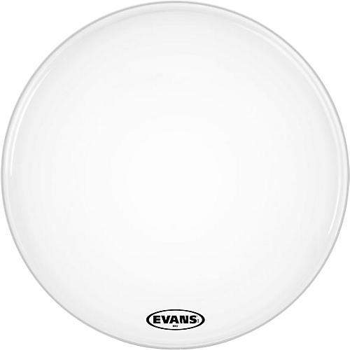 Evans MX2 White Marching Bass Head thumbnail
