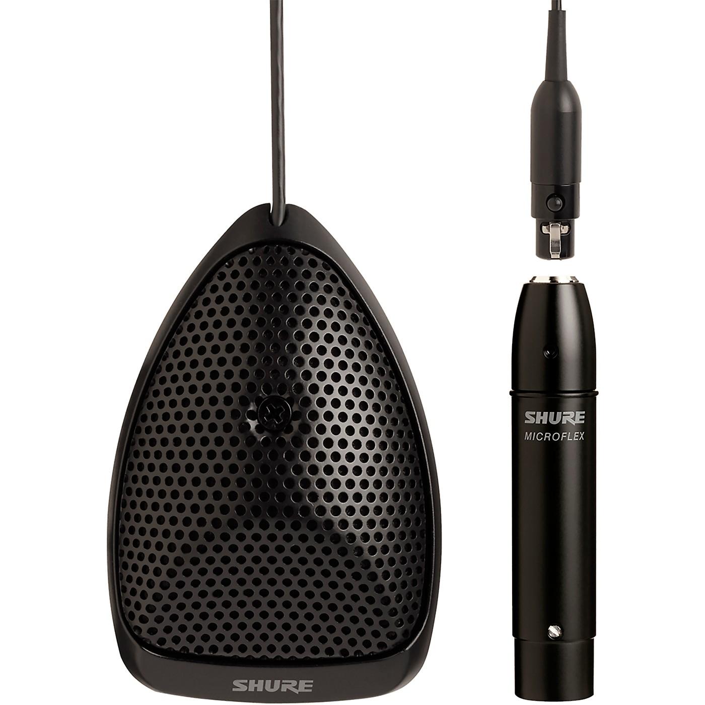 Shure MX391/C Microflex Omnidirectional Boundary Microphone Cardioid thumbnail