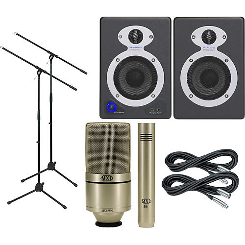 M-Audio MXL Monitor and Mic Package thumbnail